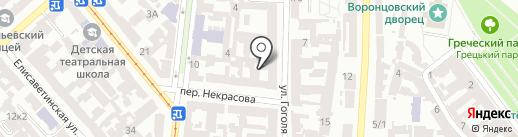 Campus на карте Одессы