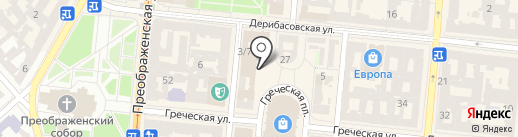 Платежный терминал, Первый Украинский Международный Банк, ПАО на карте Одессы