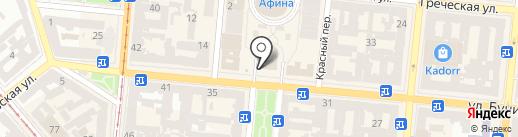 Горящие туры на карте Одессы