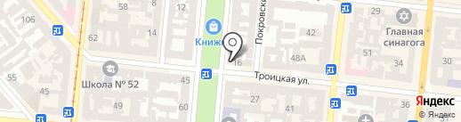 Новое агентство на карте Одессы