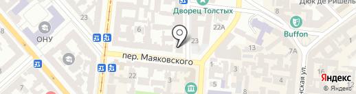 3D Hostel на карте Одессы