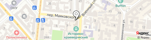 Salve на карте Одессы