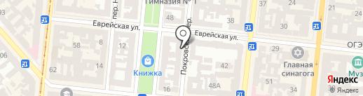 Gran Vista на карте Одессы