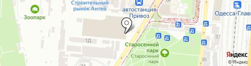 Teplobud.net на карте Одессы