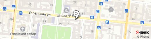 Одесское БТИ, ЧП на карте Одессы