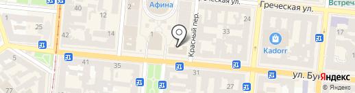 Хінкальня на карте Одессы