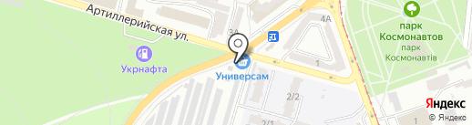 Імперія матраців на карте Одессы