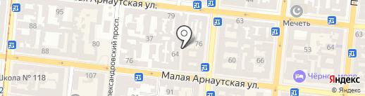 Garnet Build на карте Одессы