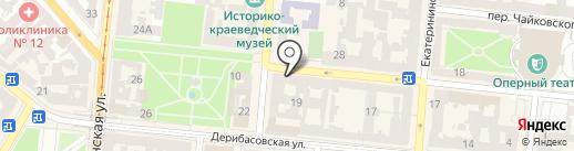 Elena Burba на карте Одессы