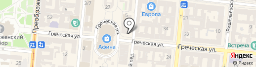 Архизем на карте Одессы