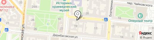 The Brow Bar на карте Одессы