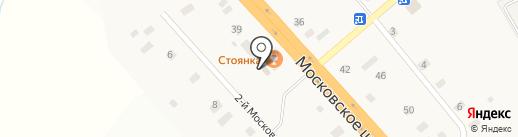 Шиномонтажная мастерская на карте Ульяновки