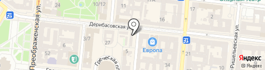 Али Баба на карте Одессы