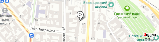 Centro Hostel на карте Одессы