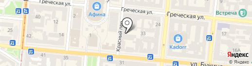 Loft Hostel на карте Одессы