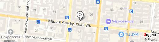 Центр дверей и интерьера на карте Одессы