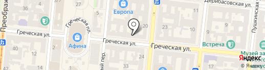 Kuhifobia на карте Одессы