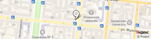 Yablonska Atelier de Patisserie на карте Одессы