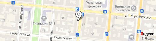 Velour на карте Одессы