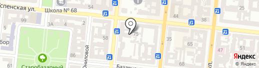 Мангал №1 на карте Одессы