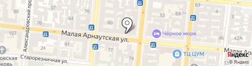 Перрон №7 на карте Одессы