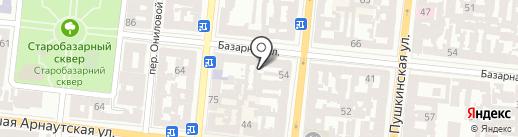 Марципановая Мафия на карте Одессы