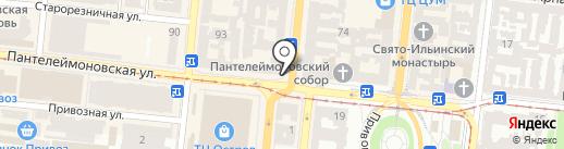Мастерская по ремонту компьютеров, телефонов и изготовлению ключей на карте Одессы