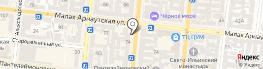Омега-Сервис на карте Одессы