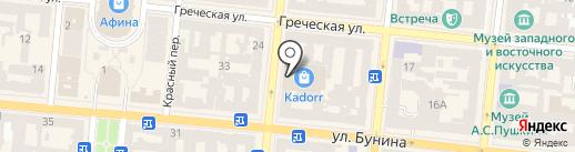 БУК на карте Одессы