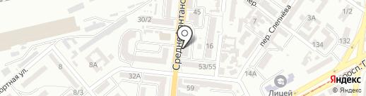 Designed for fitness на карте Одессы