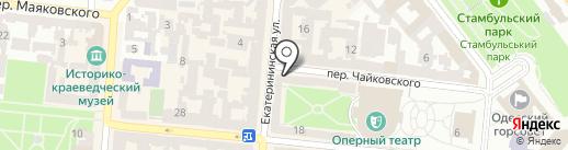 FreshLine на карте Одессы