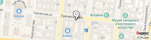 NYMPHA на карте Одессы