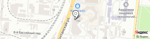 Мирошка на карте Одессы