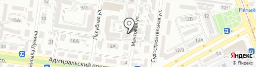 Millennium на карте Одессы