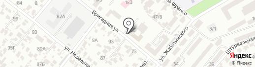 Межрегиональная строительная экспертиза на карте Одессы