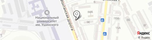MILITARY GYM на карте Одессы