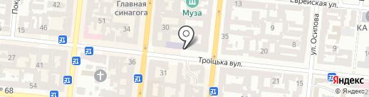 Радикальна партія Олега Ляшка на карте Одессы
