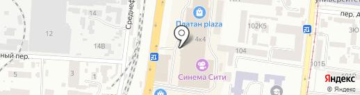 Кашемировая лавка на карте Одессы