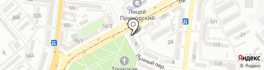 Новая Жизнь на карте Одессы