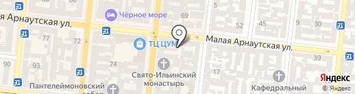 Vegano Hooligano на карте Одессы