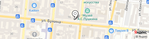 WorkEU на карте Одессы