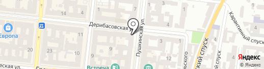 Изоляция на карте Одессы