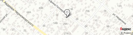 Ренессанс Украина на карте Одессы