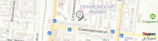 Деполь Украина на карте Одессы