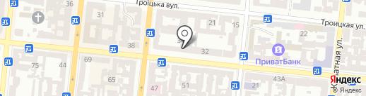 Bunker на карте Одессы