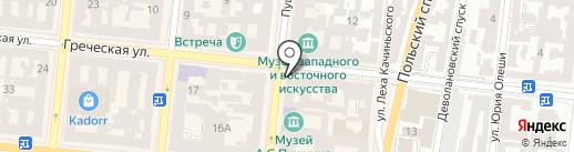 Dushka на карте Одессы