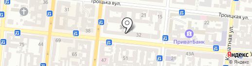 Тактика на карте Одессы