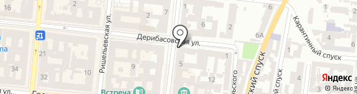 Мята на карте Одессы