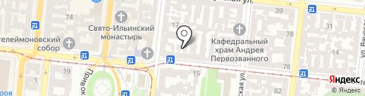 Конвалія на карте Одессы