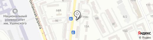 Салон-магазин мебели на карте Одессы